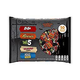 HERSHEY\'S Halloween Scare \'n\' Share Assortment (22.7-Ounce Bag, 50 Pieces)