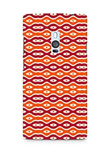 Amez designer printed 3d premium high quality back case cover for OnePlus Two (Texture2)