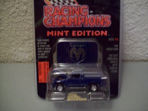 Racing Champions Mint Series Issue #12 Blue 1996 Dodge Ram