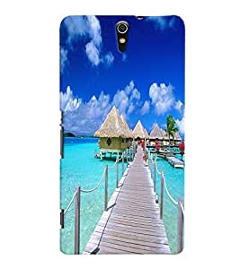 GADGET LOOKS PRINTED BACK COVER FOR Sony Xperia C5 Ultra MULTICOLOR