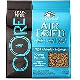 Wellness CORE Air Dried Natural Grain Free Dry Dog Food, Ocean Whitefish & Salmon Recipe, 2-Pound Bag