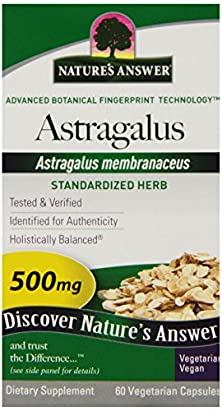buy Nature'S Answer Astragalus Root Vegetarian Capsules, 60-Count