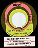 45vinylrecord For The Good Times Part 1 & 2 (7