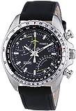 [タイメックス] TIMEX  腕時計 ウォッチ インテリジェントクオーツ レザーバンド クロノグラフ T2P101 10気圧防水 インディグロナイトライト メンズ