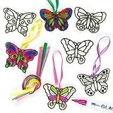 Butterfly Mini Suncatchers (Pack of 12)