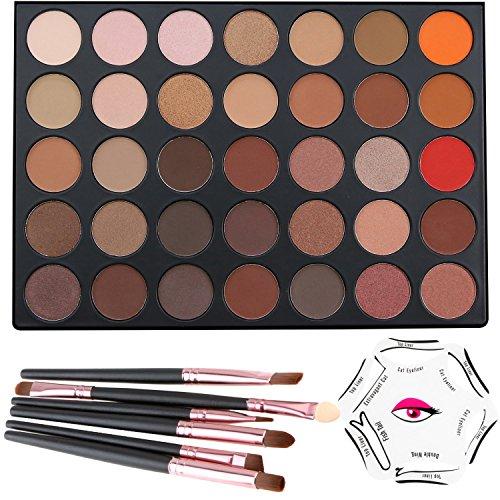 lover bar 35 farben lidschatten palette eyeliner. Black Bedroom Furniture Sets. Home Design Ideas