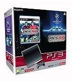 echange, troc Console PS3 Slim (250 Go) + PES 2010