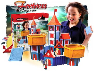 Modular 3D Architect Fortress