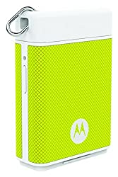 Motorola P1500 Power Pack Micro 1500mAH Portable Battery for Smartphones with Motorola Key Link to Find Phones/Keys (Lemon Yellow)