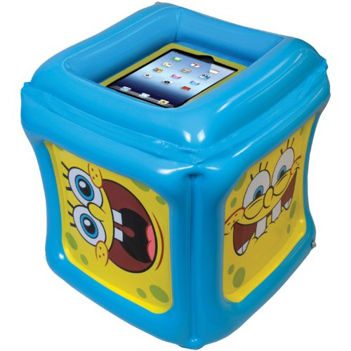 Spongebob Squarepants Inflatable Play Cube For Ipad/Ipad 2/The New Ipad With App Included front-84210
