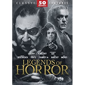 511xpaqQaGL. SL500 AA300  Legends of Horror 50 Movie Pack (2008)