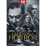 Legends of Horror 50 Movie Pack ~ Bela Lugosi