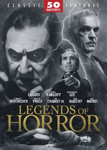Legends of Horror 50 Movie Pack