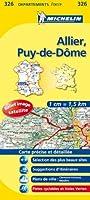 Carte DPARTEMENTS Allier, Puy-de-Dme