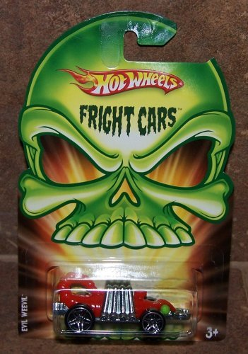 Hot Wheels Fright Cars Evil Weevil 2008 Halloween - 1