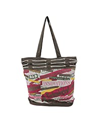 The Jute shop Handbag Irresistible Tote bag Expressing attitude and chic