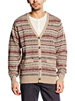 Dockers Chaqueta Punto Refined Argyle (Multicolor)