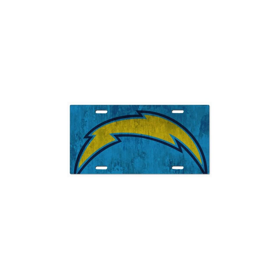 San Diego Chargers NFL 21 Vanity License Plate 3102mss