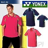 YONEX(ヨネックス)「Uni ユニポロシャツ(スタンダードサイズ) 10153」テニス&バドミントンウェア「2016SS」 L ネイビーブルー(019)