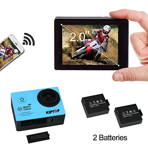 kiptop-wifi-12mp-2-inches-lcd-1080p-hd-30-meters-underwater-camera-with-2-improved-batteries-and-fre