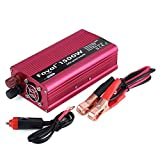 1500W Power Inverter for Car, DC 12V to AC 110V Car Inverter Converter USB Charger Adapter