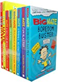 Lincoln Peirce Lincoln Peirce Big Nate 8 Books Collection Pack Set RRP: £49.92 (From the Top, Out Loud, Goes for Broke, On a Roll, The Boy with the Biggest Head in the World, Strikes Again, Fun Blaster, Boredom Buster)