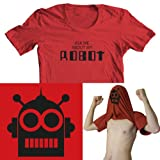 Ask me about my Robot Kids Funny Flip Tee T-Shirt All Sizes
