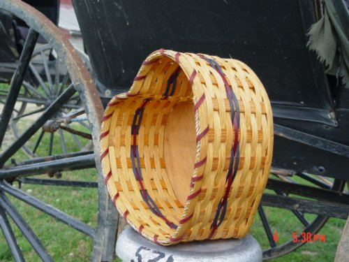 "Amish Handmade Collectible Country Rustic Heart Basket. Measures 12"" X 7"". Celebrate Your Nuptiuals in Style By Captivating Your Guests Attention When Your Flower Girl Carries This Delicate Basket. An Enchanting and Unique Engagement, Wedding, or Birthday Gift. You Can't Help Falling in Love with This Basket. This Basket Is Also Very Decorative for Easter or Valentines Day. Colors May Vary (Black, Brown, Red, Blue, Green, Purple, Burgundy, Natural)"
