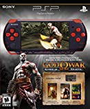PlayStation Portable Limited Edition God of War Ghost of Sparta Entertainment Pack - Red/Black