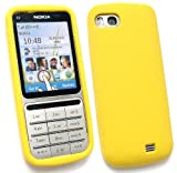 FLASH SUPERSTORE NOKIA C3-01 SILICON CASE/COVER/SKIN YELLOW