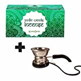Aromafume Vedic Woods Incense (Medium) & Classic Electric Incense Burner