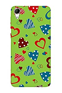 ZAPCASE PRINTED BACK COVER FOR HTC 728/HTC 728G Multicolor