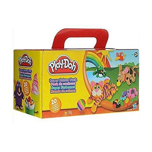 hasbro-play-doh-a7924-juego-de-plastilina-varios-colores-20-unidades
