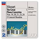 Mozart: The Great Piano Concertos, Vol.1 (2 CDs)