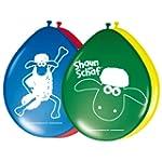 Ballons Shaun das Schaf, 8 St�ck