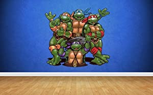 Teenage Mutant Ninja Turtles Wall Stickers Art Decal Vinyl