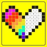 Coloring with Number Games
