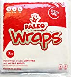 Paleo Wraps, Gluten Free Coconut Wraps, 7-Count