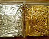 "400pcs Mix Silver/gold Plated Head Pins 3/4"" 21ga ~Jewelry Findings~"