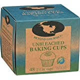 Beyond Gourmet 2-1/2-Inch Unbleached Baking Cups, 48 cups