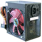 650 WATT Power supply Alpine Black 650 WATT Silent Quiet PC ATX PSU