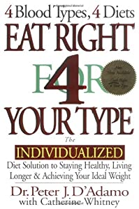 "Cover of ""Eat Right 4 Your Type: The Indi..."