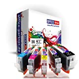 Canon compatible CLI-8 & PGI-5 multiPack of 5 high quality Ink Cartridges for Canon Pixma iP / MP / MX-Series