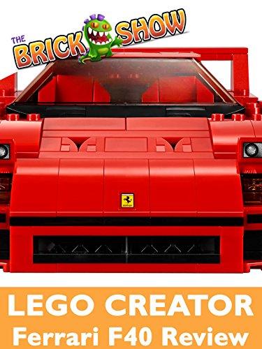 Review: Lego Creator Ferrari F40 Review