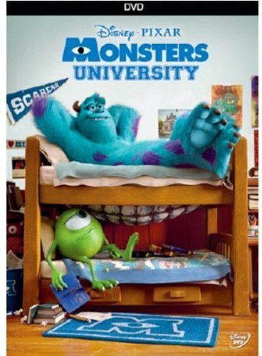DVD : Monsters University (Dolby, AC-3, Dubbed, , Widescreen)