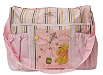 Disney Winnie the Pooh Diaper Bag (Pink)