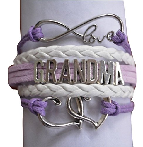 Grandma Charm Bracelet, Grandma Mom Jewelry- Perfect Gift for Grandmas