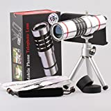 giftsbox 18x Optical Aluminum Telescope camera lens With Case Cover For iPhone 4/4s