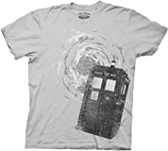 Doctor Who TARDIS Ice Grey T-Shirt,