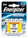 Energizer Ultimate 4 Pack AA 626264 Lithium Batteries